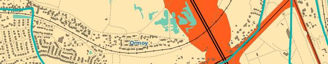Carte de bruit à Mennecy