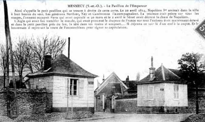 Le pavillon de l'Empereur à Mennecy