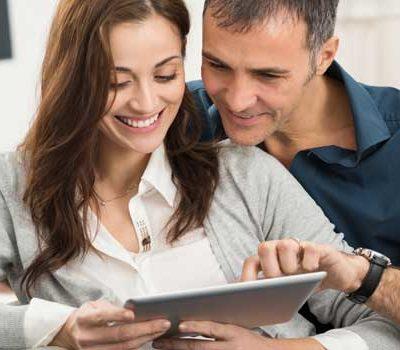 Le nouveau site de Mennecy est adpaté aux tablettes ou smartphones