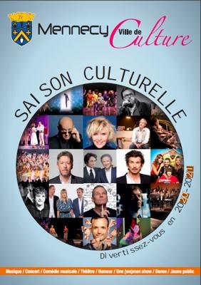 Couverture Guide de la saison culturelle 2020-2021