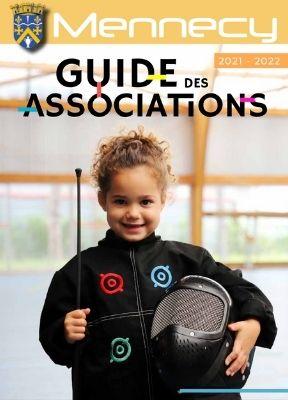 Couverture Guide des associations 2021 – 2022